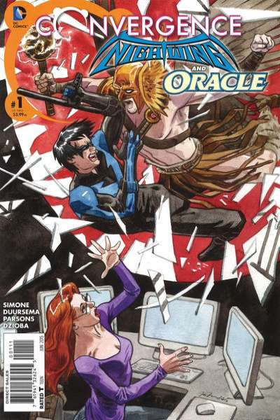 Convergence Nightwing/Oracle # comic book complete sets Convergence Nightwing/Oracle # comic books