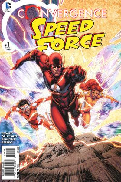 Convergence Speed Force # comic book complete sets Convergence Speed Force # comic books