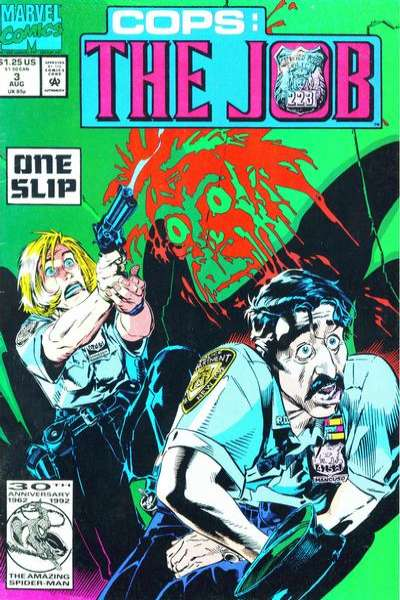 Cops: The Job #3 comic books - cover scans photos Cops: The Job #3 comic books - covers, picture gallery