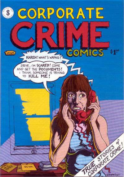 Corporate Crime Comics comic books
