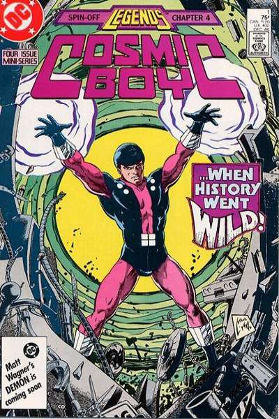 Cosmic Boy comic books