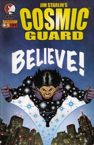 Cosmic Guard #3 comic books - cover scans photos Cosmic Guard #3 comic books - covers, picture gallery