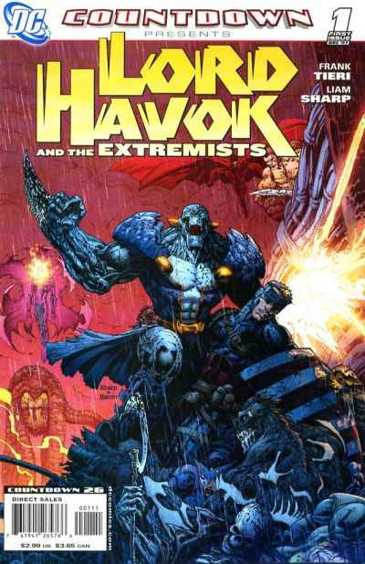 Countdown Presents: Lord Havok and the Extremists comic books