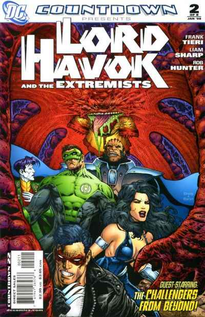 Countdown Presents: Lord Havok and the Extremists #2 comic books for sale