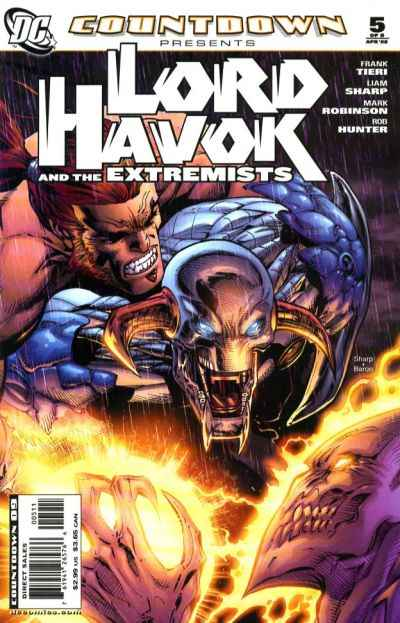 Countdown Presents: Lord Havok and the Extremists #5 comic books - cover scans photos Countdown Presents: Lord Havok and the Extremists #5 comic books - covers, picture gallery