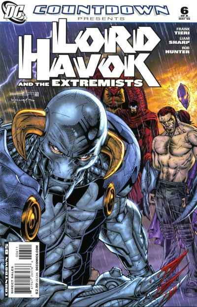 Countdown Presents: Lord Havok and the Extremists #6 comic books - cover scans photos Countdown Presents: Lord Havok and the Extremists #6 comic books - covers, picture gallery