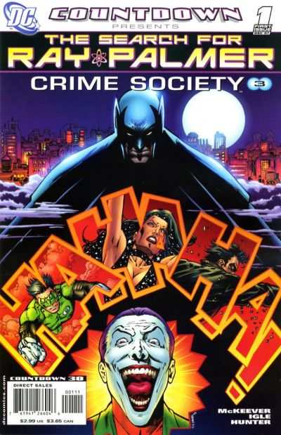 Countdown Presents: The Search for Ray Palmer: Crime Society #1 comic books for sale
