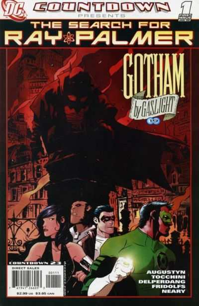 Countdown Presents: The Search for Ray Palmer: Gotham by Gaslight #1 comic books - cover scans photos Countdown Presents: The Search for Ray Palmer: Gotham by Gaslight #1 comic books - covers, picture gallery