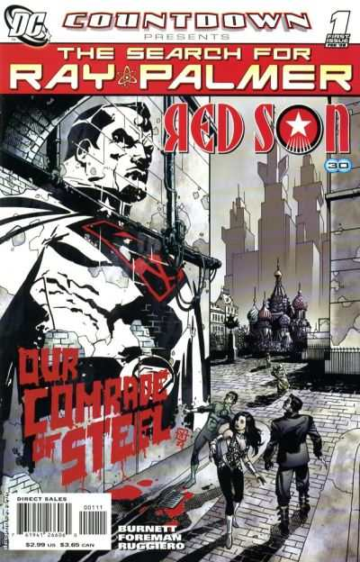 Countdown Presents: The Search for Ray Palmer: Red Son #1 comic books - cover scans photos Countdown Presents: The Search for Ray Palmer: Red Son #1 comic books - covers, picture gallery