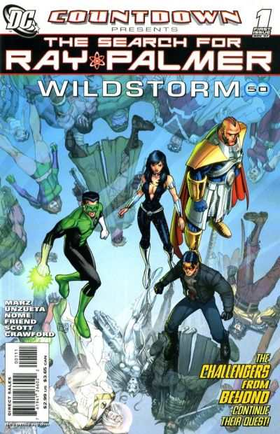 Countdown Presents: The Search for Ray Palmer: Wildstorm #1 comic books for sale