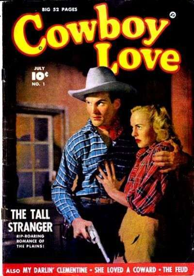 Cowboy Love Comic Books. Cowboy Love Comics.