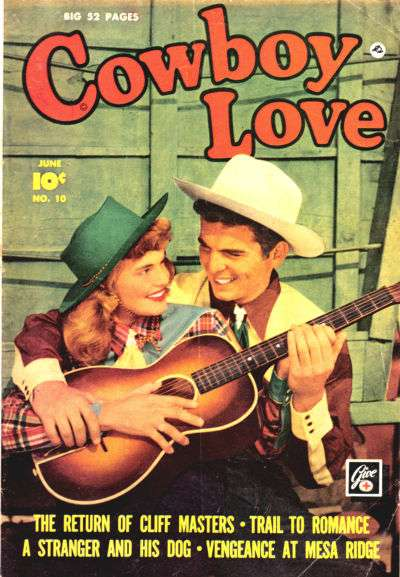 Cowboy Love #10 comic books - cover scans photos Cowboy Love #10 comic books - covers, picture gallery
