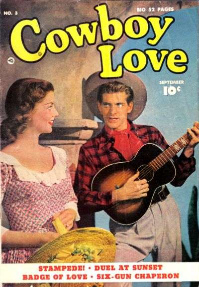 Cowboy Love #3 comic books - cover scans photos Cowboy Love #3 comic books - covers, picture gallery