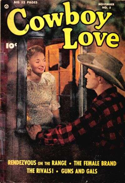 Cowboy Love #5 comic books - cover scans photos Cowboy Love #5 comic books - covers, picture gallery