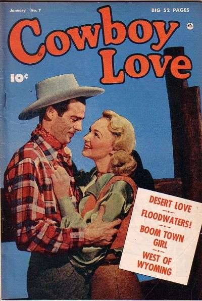 Cowboy Love #7 comic books for sale