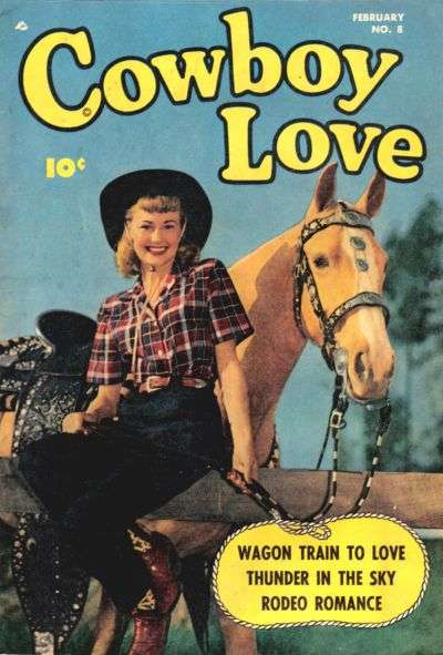 Cowboy Love #8 comic books for sale