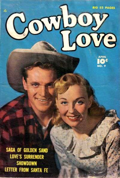 Cowboy Love #9 comic books - cover scans photos Cowboy Love #9 comic books - covers, picture gallery