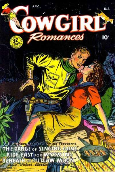 Cowgirl Romances comic books