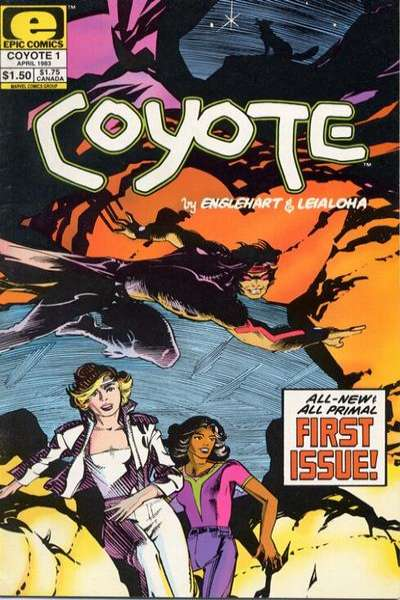 Coyote comic books