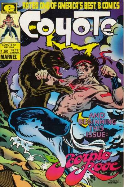 Coyote #12 Comic Books - Covers, Scans, Photos  in Coyote Comic Books - Covers, Scans, Gallery
