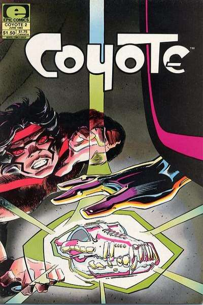 Coyote #2 comic books for sale