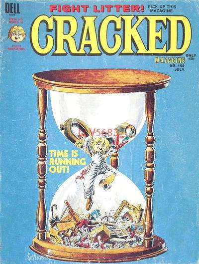 Cracked #109 comic books for sale