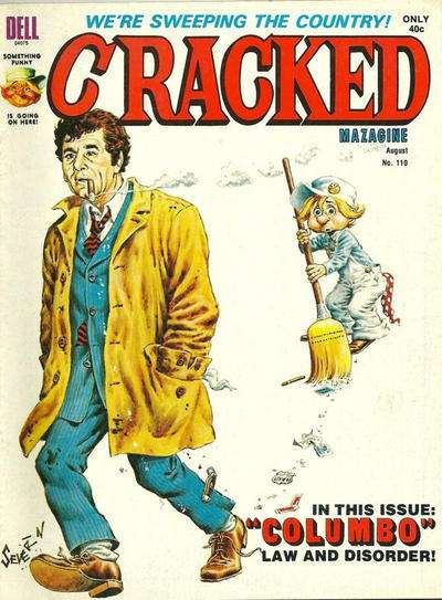 Cracked #110 comic books for sale