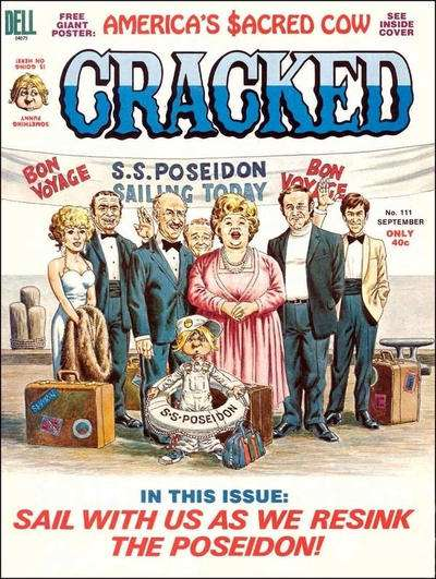 Cracked #111 comic books for sale
