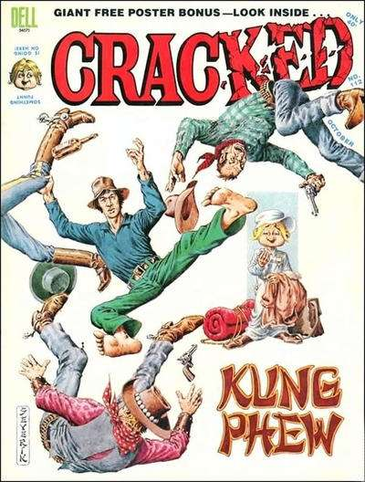 Cracked #112 comic books for sale
