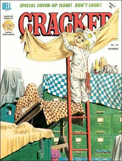 Cracked #113 comic books for sale
