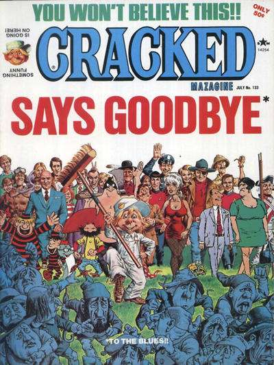 Cracked #133 comic books for sale