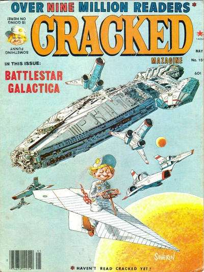 Cracked #159 comic books - cover scans photos Cracked #159 comic books - covers, picture gallery