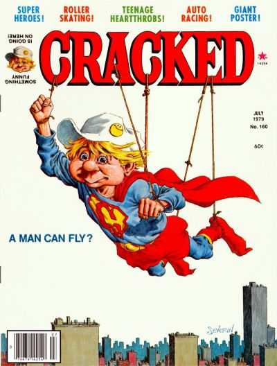 Cracked #160 comic books - cover scans photos Cracked #160 comic books - covers, picture gallery