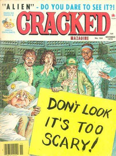 Cracked #165 comic books - cover scans photos Cracked #165 comic books - covers, picture gallery