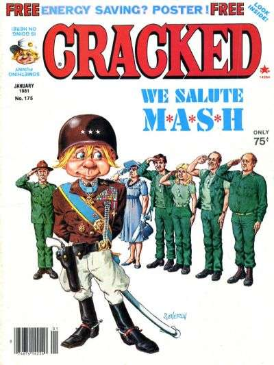 Cracked #175 comic books - cover scans photos Cracked #175 comic books - covers, picture gallery