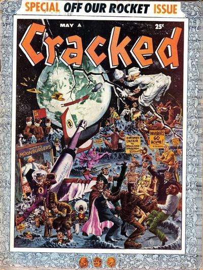 Cracked #9 Comic Books - Covers, Scans, Photos  in Cracked Comic Books - Covers, Scans, Gallery