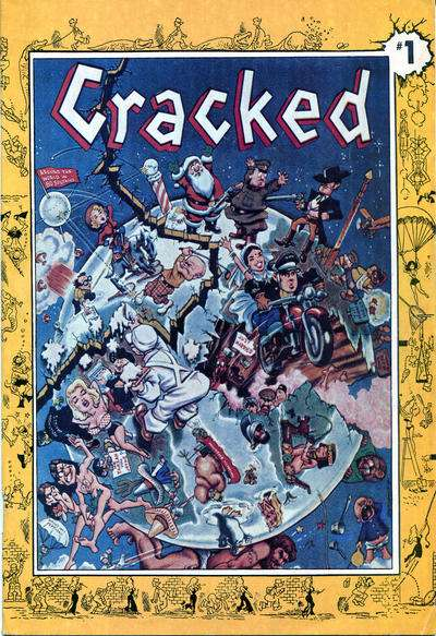 Cracked #97 comic books for sale