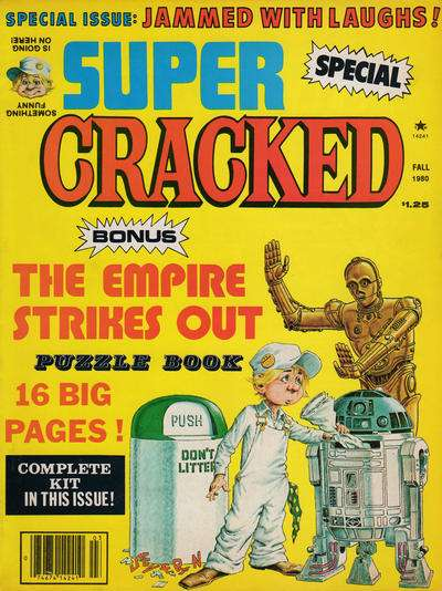 Cracked #14 comic books for sale