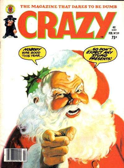 Crazy Magazine #59 comic books - cover scans photos Crazy Magazine #59 comic books - covers, picture gallery