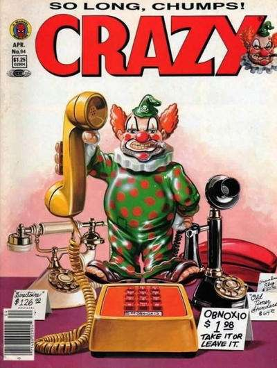 Crazy Magazine #94 comic books for sale