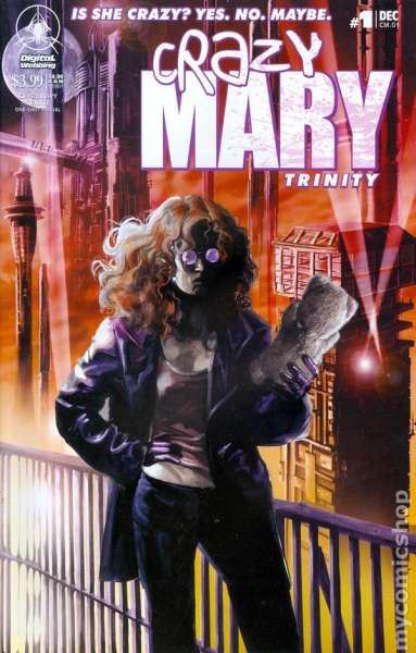 Crazy Mary: Trinity comic books