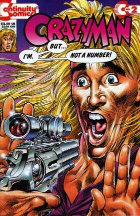 Crazyman #2 Comic Books - Covers, Scans, Photos  in Crazyman Comic Books - Covers, Scans, Gallery