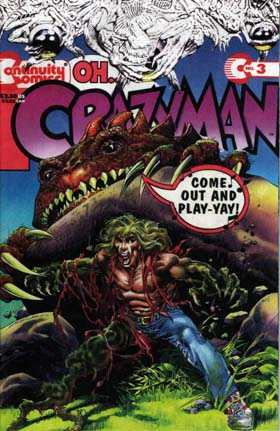 Crazyman #3 Comic Books - Covers, Scans, Photos  in Crazyman Comic Books - Covers, Scans, Gallery