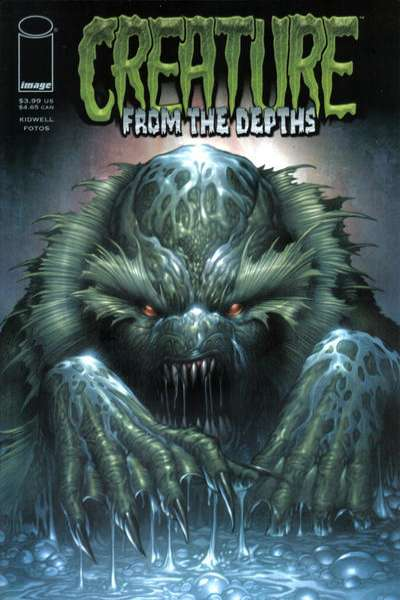 Creature from the Depths comic books