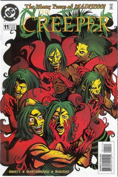 Creeper #11 comic books for sale