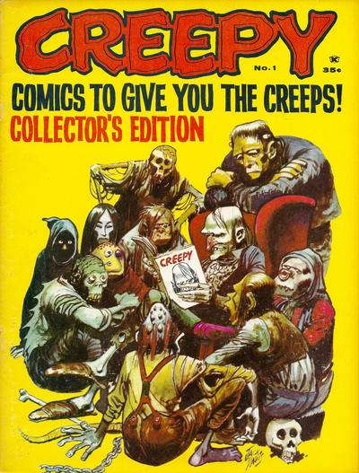 Creepy #1 Comic Books - Covers, Scans, Photos  in Creepy Comic Books - Covers, Scans, Gallery