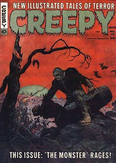 Creepy #10 comic books - cover scans photos Creepy #10 comic books - covers, picture gallery