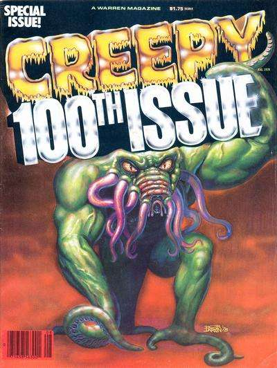 Creepy #100 comic books - cover scans photos Creepy #100 comic books - covers, picture gallery