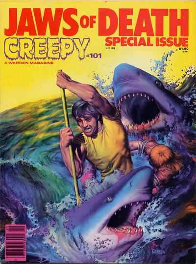 Creepy #101 comic books - cover scans photos Creepy #101 comic books - covers, picture gallery