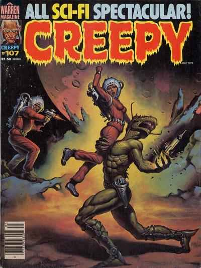 Creepy #107 comic books - cover scans photos Creepy #107 comic books - covers, picture gallery